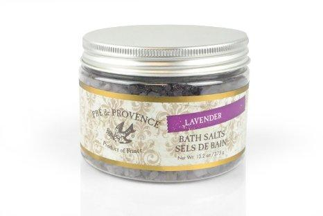 Pre De Provence Muscle Soothing, Mind Relaxing, Mediterranean Bath Salts -Lavender