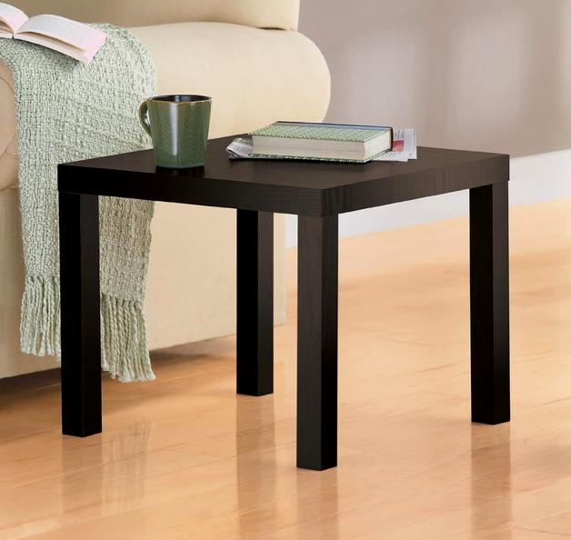DHP Parsons Modern End Table, Espresso