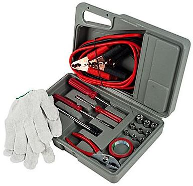 $9.99 Tank Technology 30 Piece Roadside Emergency Tool and Auto Kit
