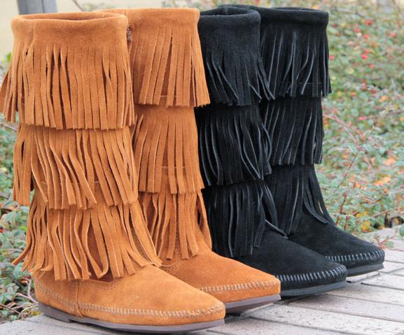 Up to 51% Off Minnetonka Women's Boots On Sale @ 6PM.com
