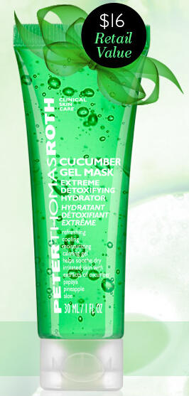 Free Cucumber Mask 1ozwith Any $25 Purchase @ Peter Thomas Roth