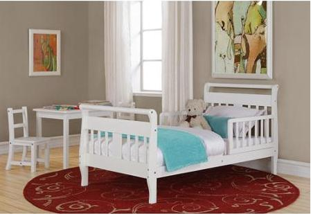 Baby Relax Toddler Bed with a Kolcraft Mattress