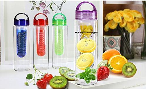 $17.99 Carteret Tritan Infusion Water Bottle 4-Pack