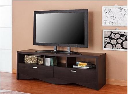 Furniture of America 2-Drawer Mattas Espresso TV Stand