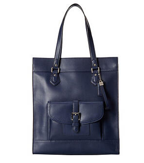 COACH Charlie Leather Tote