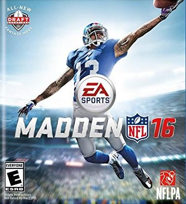 $20 Off Madden NFL 16 Games @ Amazon.com