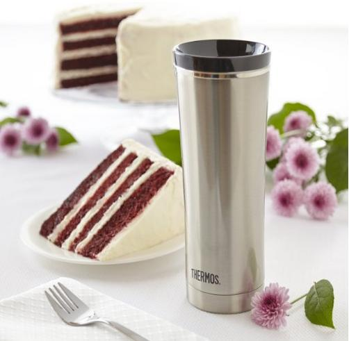 Thermos 16-Ounce Vacuum-Insulated Travel Tumbler