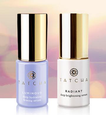Free 2 Travel-sized Serums With Order Over $175 @ Tatcha