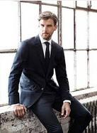 Extra 25% Off Tommy Hilfiger men's 100% Wool Suits