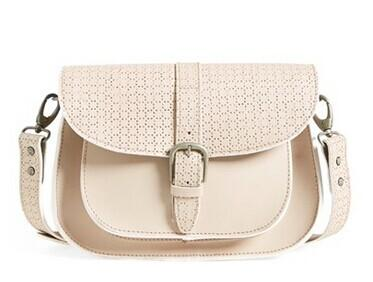 Maison Scotch Perforated Shoulder Bag @ Nordstrom