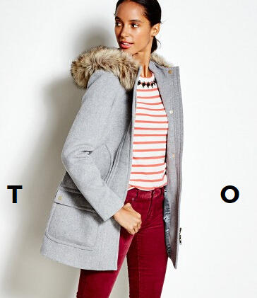 50% Off Select Styles at J.Crew Factory