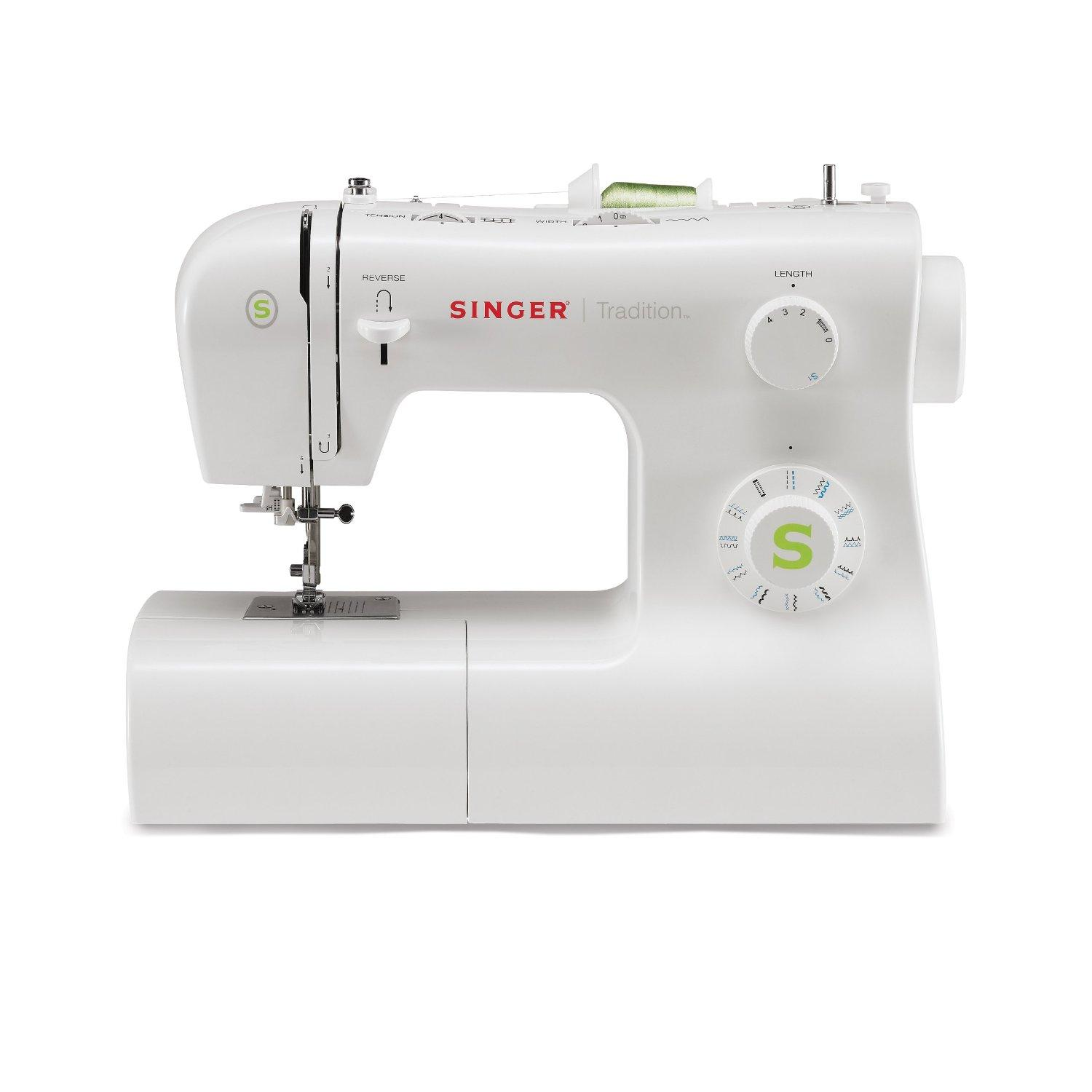 SINGER 2277 Tradition Sewing Machine with Automatic Needle Threader