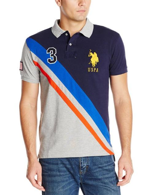 Extra 20% Off U.S. Polo Assn. Men's  Polo Shirt