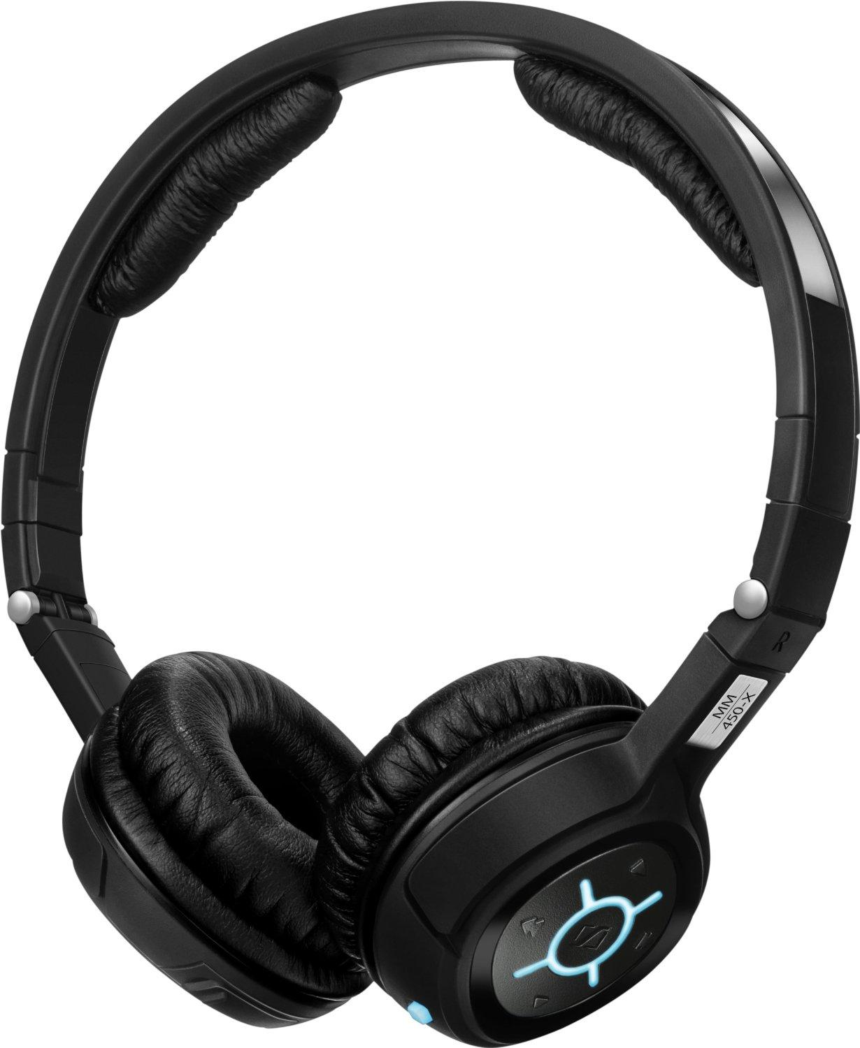 Sennheiser MM 450-X Wireless Bluetooth Headphones - Black