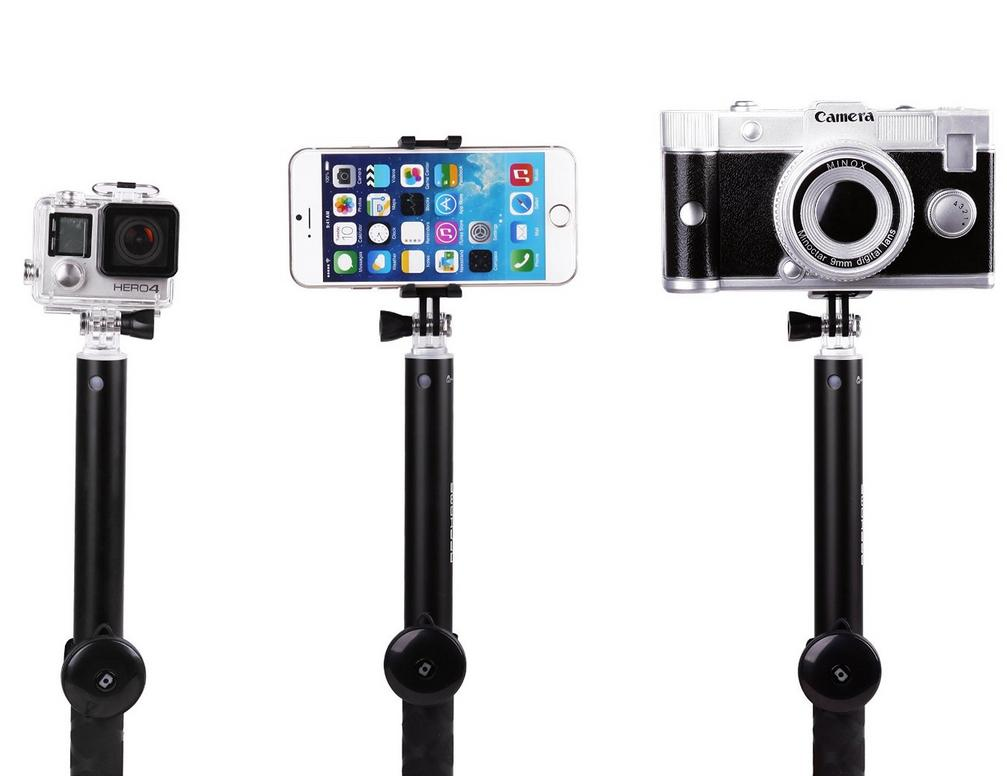 10.99 Kingtop Monopod Selfie Stick with Remote
