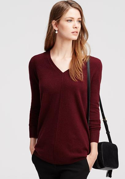 30% off Beautiful Apprels and Shoes in Dark Ruby @ Ann Taylor
