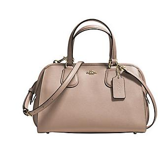 COACH  Nolita Leather Satchel Bag @ Lord & Taylor