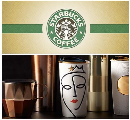 From $11.95 Anniversary Collection Drinkware @ Starbucks