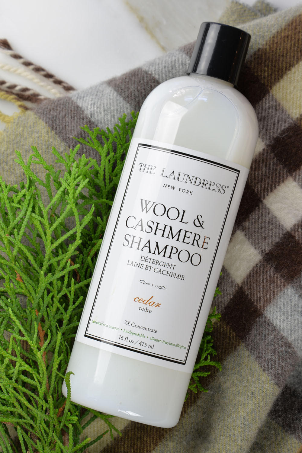 $11.45 The Laundress Wool & Cashmere Shampoo, Cedar, 16 fl. oz. - 32 loads