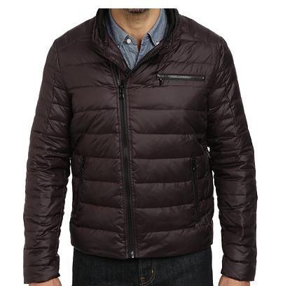 $44.99 Kenneth Cole New York Zip Front Down Jacket