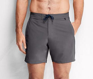 Lands' End Men's Active Performance Board Shorts