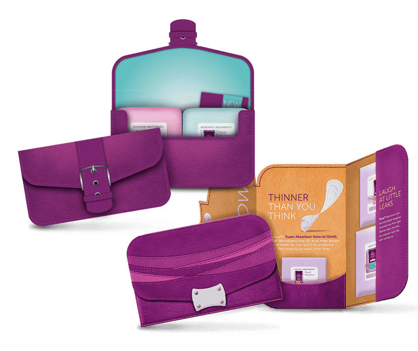 Free Poise Liner Sample Kit or Poise Pad Sample Kit