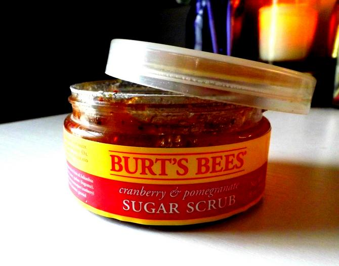 Burt's Bees Cranberry & Pomegranate Sugar Scrub, 8 Ounce
