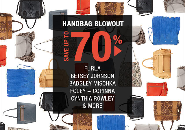 Up to 70% OFF Handbag Blowout at Fashion Dash @ LastCall by Neiman Marcus