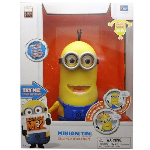 $14.29 Despicable Me Minion Tim The Singing Action Figure