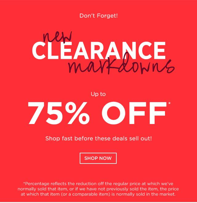 Up to 75% OFF New Clearance Markdown @ Saks Off 5th