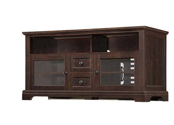 Whalen Furniture - TV Console for Flat-Panel TVs Up to 60