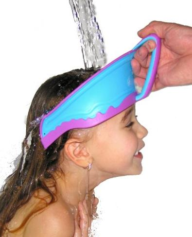$9.99 Lil Rinser Splashguard in Blue and Pink