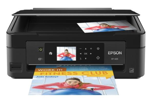 Epson - Expression Home XP-420 Small-in-One Wireless All-In-One Printer