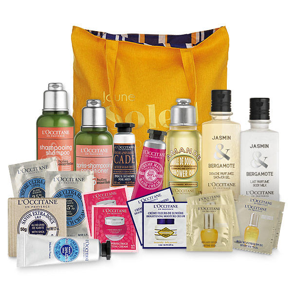Free 20-piece Kit with Any $140 Purchase @ L'Occitane