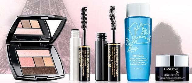 5 Travel-size Eye Essentials with Any Order over $35 @ Lancome