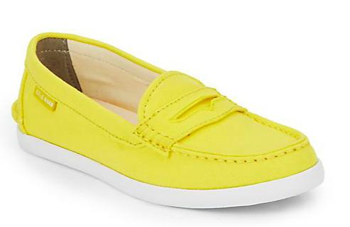 Cole Haan Nantucket Canvas Loafers, Sunray Canary