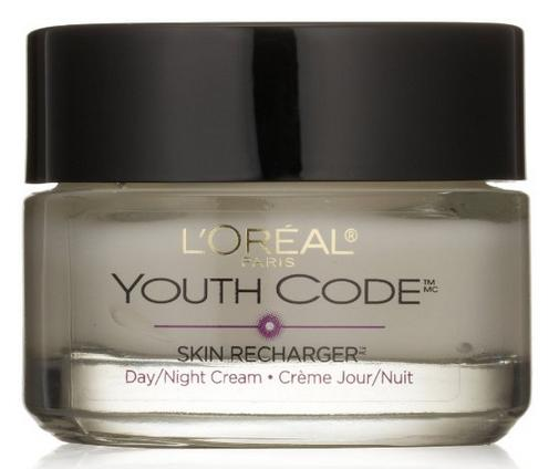 L'Oreal Paris Youth Code Day/Night Cream, 1.7 Fluid Ounce