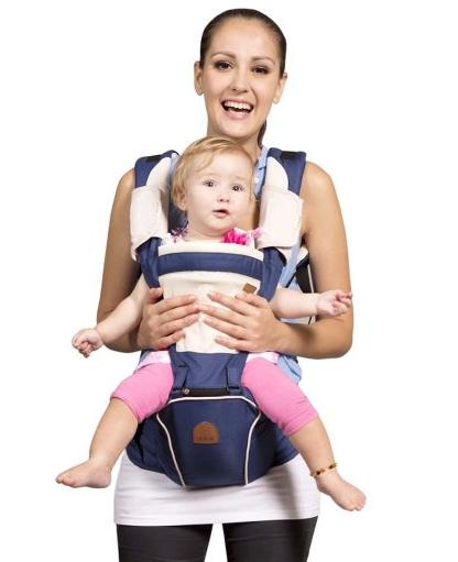 Bebamour New Style Designer Sling and Baby Sling Carrier 2 in 1 @ Amazon
