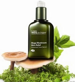 $53 + Free Mega Mushroom Skin Relief Soothing Treatment Lotion 50ml+3 Piece Gift Set Dr. Andrew Weil for Origins™ Mega-Mushroom Skin Relief Advanced Face Serum 1oz