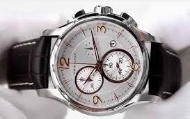 Hamilton Men's Jazzmaster Chronograph Silver Dial Watch
