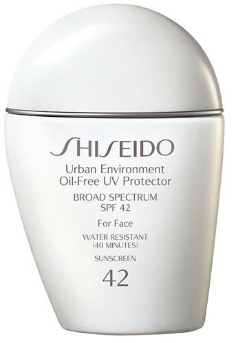 $52 + Free Deluxe Six-Piece Gift Shiseido 'Urban Environment' Oil-Free UV Protector SPF 42 + Shiseido Ultimate Sun Protection Cream SPF 50+
