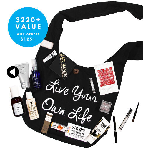 Free Discovery Beauty Bundle with Every B-glowing Purchase of $125 or more