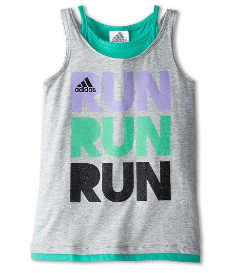 adidas Kids Faux Layer Tank (Toddler/Little Kids)
