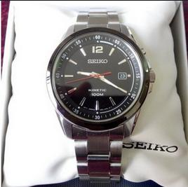 Seiko Kinetic Men's Kinetic Watch SKA659