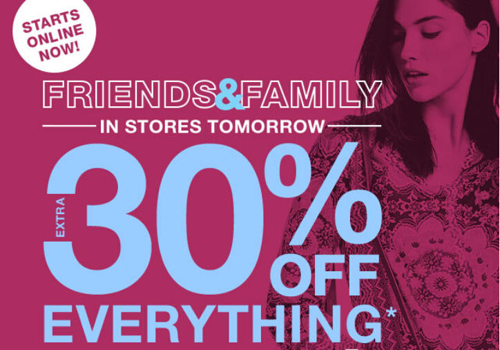Extra 30% Off Everything in Friends & Family Event @ LastCall by Neiman Marcus
