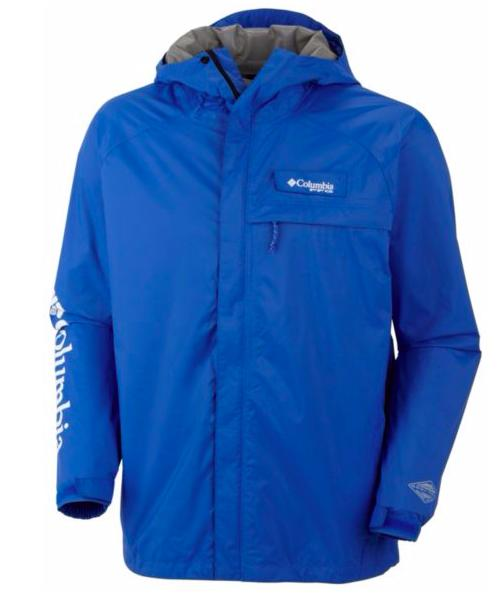 Columbia Men's PFG Hydrotech Packble Rain Jacket