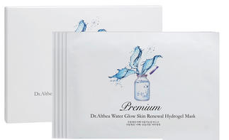 Dr. Althea Premium Water Glow Skin Renewal Hydrogel Mask 1box, 5pcs On Sale @ COSME-DE.COM