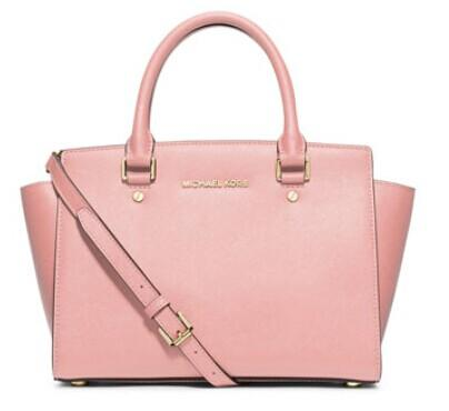 MICHAEL Michael Kors  Selma Medium Top-Zip Satchel Bag @ Neiman Marcus