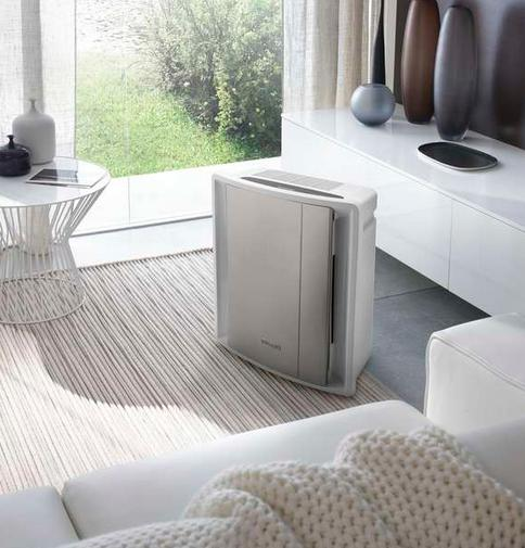 Delonghi AC230 Air Purifier with Ionizer, Sensor Touch Screen, HEPA Filter