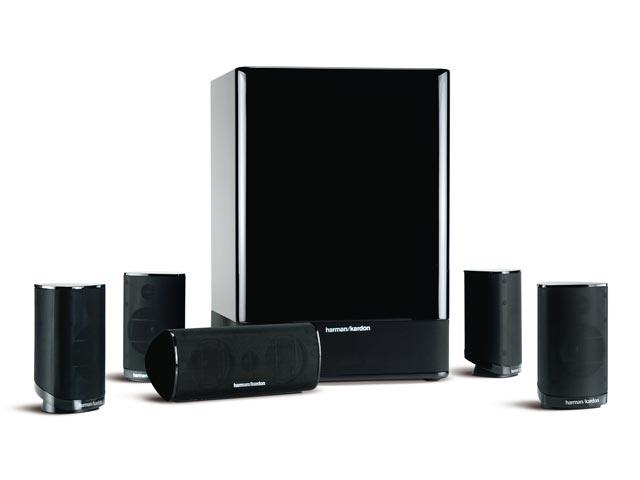 Harman Kardon HKTS 15 5.1-Channel Home Theater Speaker System(recertified)